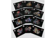 Collection complète des 12 cartes postales Coyote